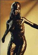 Traditional Sculpture Originals - Dance Series I - Danyah by Allen Mautz