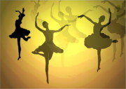 Joyce Dickens Digital Art Prints - Dance With Us Into The Light Print by Joyce Dickens