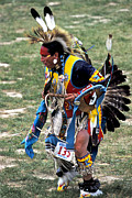 Oglala Framed Prints - Dancer 135 Framed Print by Chris  Brewington Photography LLC