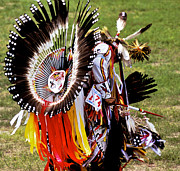 Lakota Prints - Dancer 174 Print by Chris  Brewington Photography LLC