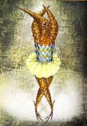 Surrealistic Prints - Dancer 2  Print by Lolita Bronzini