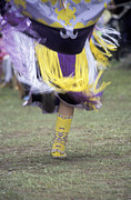 Fringes Posters - Dancer at Pow Wow Poster by Gordon Wood