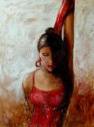 Concentration Originals - Dancer in Red by Jun Jamosmos