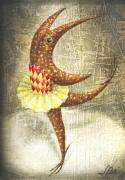 Surrealistic Prints - Dancer Print by Lolita Bronzini