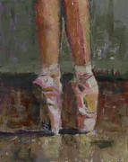 Dance Shoes Prints - Dancer Print by Nikki Rosetti