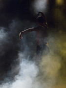 Flamenco Posters - Dancer through the Mist Poster by Kenton Smith