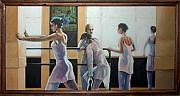 Ballet Originals - Dancers Bathed In Light by Rusty W Hinshaw