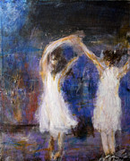Wedding Reception Paintings - Dancers by David DeHetre