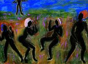 Dancing A Deliverance Prayer Print by Angela L Walker