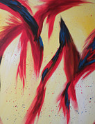 Silvie Kendall Metal Prints - Dancing Birds Metal Print by Silvie Kendall