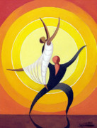 Ballet Originals - Dancing Duo by George Chamaa
