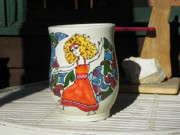 Ladies Ceramics - Dancing goddess by Lisa Dunn