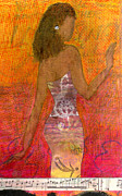 Creative Mixed Media - Dancing Lady by Angela L Walker