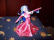 Paper Mache Sculptures - Dancing Lady-sculpture by Hollie Leffel