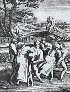 St Vitus Posters - Dancing Mania, 1564 Poster by Science Source