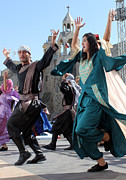 Festival Originals - Dancing near Nativity Church by Munir Alawi