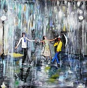 Sandro Sabatini - Dancing on the rain