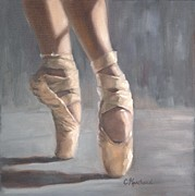 Dance Shoes Posters - Dancing Shoes Poster by Catherine Marchand