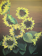 Raymond Doward - Dancing Sunflowers