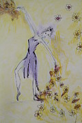 Bloom Pastels - Dancing with flowers by Elisabeth Charbonneau