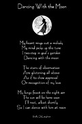 Prose Posters - Dancing With the Moon Poster by Holly Ethan