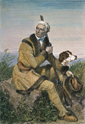 Westward Framed Prints - Daniel Boone (1734-1820) Framed Print by Granger