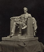 French Leaders Prints - Daniel C. Frenchs Working Model Print by Everett
