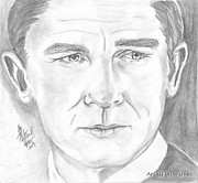 Craig Drawings - Daniel Craig by Nathaniel Bostrom