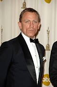 Daniel Photo Prints - Daniel Craig In The Press Room For 81st Print by Everett