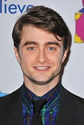 Daniel Framed Prints - Daniel Radcliffe At Arrivals For Only Framed Print by Everett
