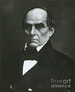 Daniel Framed Prints - Daniel Webster, Kentucky Senator Framed Print by Photo Researchers