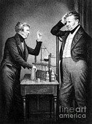 People Trained Prints - Daniell And Faraday, Founders Print by Science Source