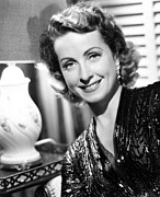 1950s Portraits Photo Prints - Danielle Darrieux, Publicity Still Print by Everett