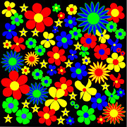 R18 Digital Art - Danish Flowers Flora Danica Square by Asbjorn Lonvig