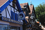 Danish Prints - Danish Mill Bakery in Solvang California Print by Susanne Van Hulst