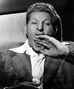 Publicity Shot Framed Prints - Danny Kaye Gag Shot During Production Framed Print by Everett