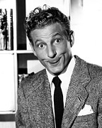 Publicity Shot Framed Prints - Danny Kaye Gag Shot Taken Framed Print by Everett