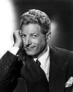 Publicity Shot Framed Prints - Danny Kaye Publicity Shot For The Kid Framed Print by Everett