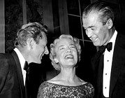 Margaret Chase Prints - Danny Kaye, Senator Margaret Chase Print by Everett