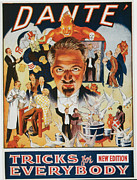 Illusionists Posters - Dante Tricks for Everybody Poster by Unknown
