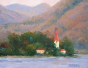 Danube Autumn Print by Bunny Oliver