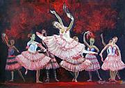 Ballerinas Prints - Danza Italiana Print by Leonardo Ruggieri