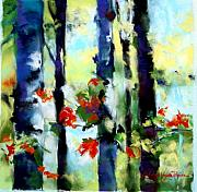 Deborah Voyda Rogers - Dappled Birch