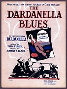 Harem Girl Posters - Dardanella Blues Poster by Mel Thompson