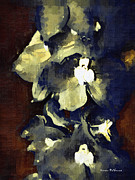Goth Originals - Dark Abstract Flower by Karen Devonne Douglas
