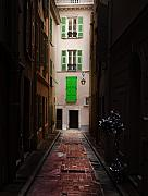 Alleyway Art - Dark and Light by Cecil Fuselier