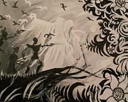 Dark And Light Print by Lisa Leeman