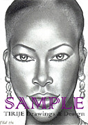 Brochures Drawings - DARK  and LOVELY by Rick Hill