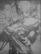 Thor Drawings - Dark Avengers  by Milton  Gore