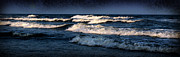 Beckley Wv Photographer Posters - Dark Blue Ocean Poster by Lj Lambert